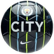 manchester city fodbold prestige - navy/neon/blå/hvid - fodbolde
