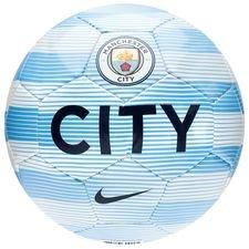 manchester city fodbold skills - blå/hvid/navy - fodbolde