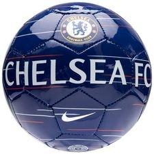 Image of   Chelsea Fodbold Skills - Blå/Hvid