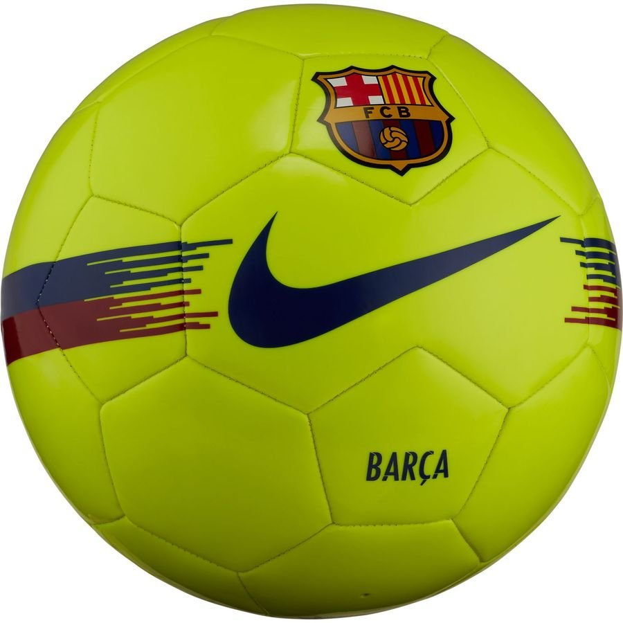 Barcelona Fodbold Supporter – Neon/Bordeaux/Navy