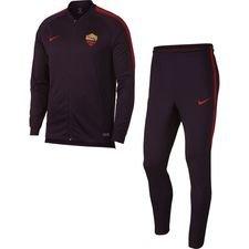 Roma Träningsoverall Dry Squad Knit - Bordeaux/Röd Barn