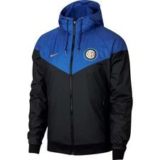 inter windrunner woven authentic - sort/blå/guld - windbreaker