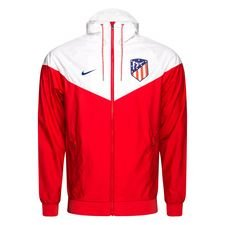 Atletico Madrid Windrunner Woven Authentic - Röd/Vit