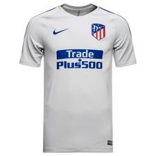 Image of   Atletico Madrid Trænings T-Shirt Breathe Squad - Grå/Navy
