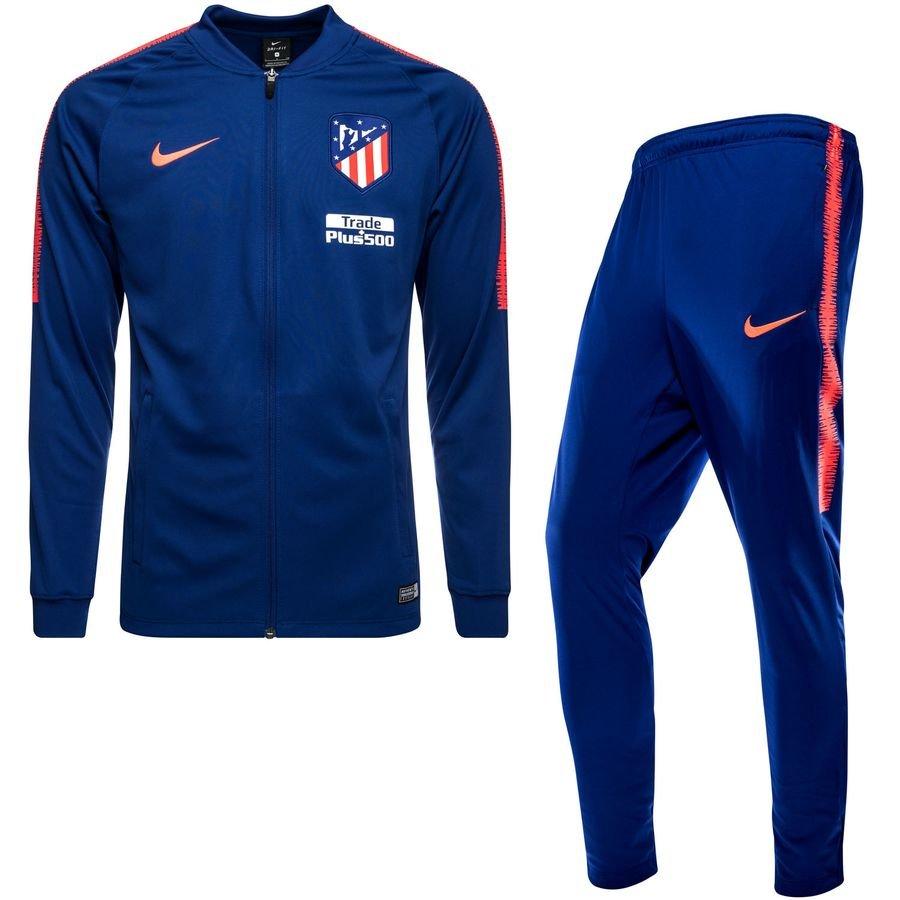 Atletico Madrid Survêtement Dry Squad Knit - Violet/Turquoise