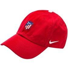atletico madrid kasket h86 - rød/hvid - kasket