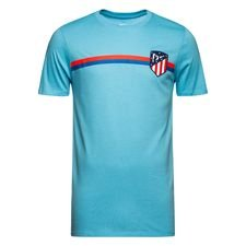 Atletico Madrid T-Shirt Crest - Blå