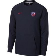 Image of   Atletico Madrid Sweatshirt NSW Crew - Navy/Rød