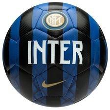 inter fodbold prestige - sort/blå/hvid/guld - fodbolde