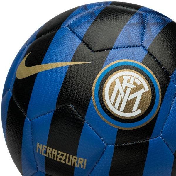 2b5a4503ae9336 Inter Milan Ballon Prestige - Noir/Bleu/Blanc/Doré   www ...