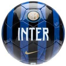 inter fodbold skills - blå/sort/guld - fodbolde