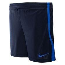 nike shorts dry academy - navy/blå børn - træningsshorts