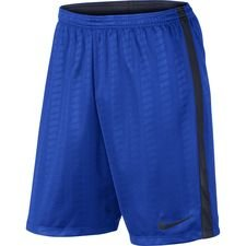 nike shorts dry academy - blauw/navy - voetbalshorts