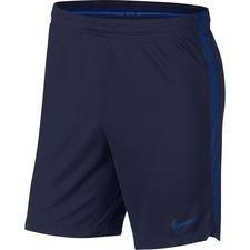 nike shorts dry squad 18 - blå - fodboldshorts