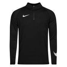 nike træningstrøje dry squad 18 - sort/hvid - træningstrøjer
