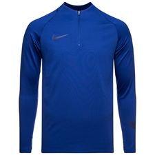 nike træningstrøje dry squad 18 - blå - træningstrøjer