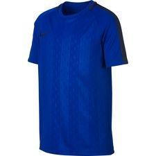 nike trænings t-shirt dry academy - blå/navy børn - træningstrøjer