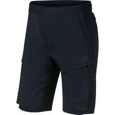 nike shorts nsw tech woven - sort - træningsshorts