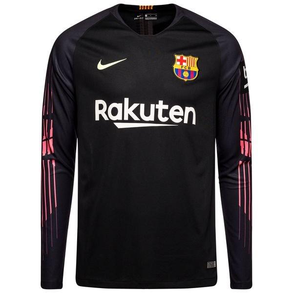 f313735ee Barcelona Goalkeeper Shirt 2018 19 Black Kids