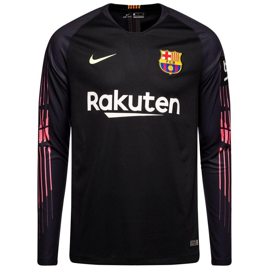 Shirt | Goalkeeper 2018/19  www Black Barcelona Kids