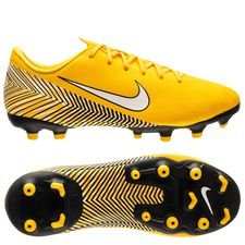 best sneakers 37491 32e7c Nike Mercurial Vapor 12 Academy MG NJR Meu Jogo Pack - Gul Vit Svart