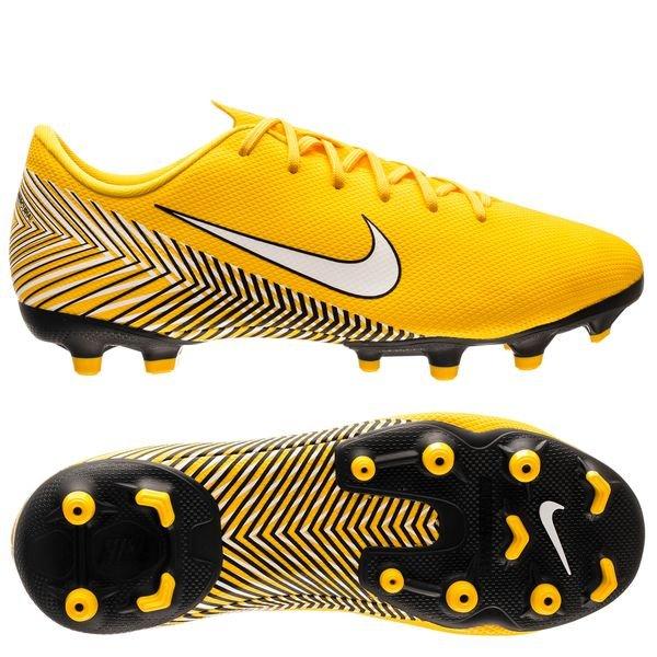 best sneakers 2e0a8 9726e Nike Mercurial Vapor 12 Academy MG NJR Meu Jogo Pack - Gul Vit Svart