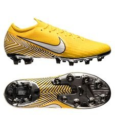 nike mercurial vapor 12 elite ag-pro njr meu jogo pack - amarillo/white/black - football boots