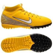 Nike Mercurial Superfly 6 Academy TF NJR Meu Jogo Pack - Gul/Vit/Svart Barn