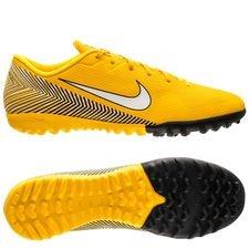 Nike Mercurial Vapor 12 Academy TF NJR Meu Jogo Pack - Gul/Vit/Svart