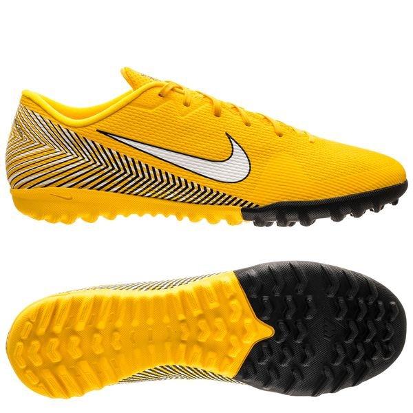 new product d70ac 7f920 Nike Mercurial Vapor 12 Academy TF NJR Meu Jogo Pack - Gul Vit Svart