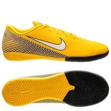 Nike Mercurial Vapor 12 Academy IC NJR Meu Jogo Pack - Gul/Vit/Svart