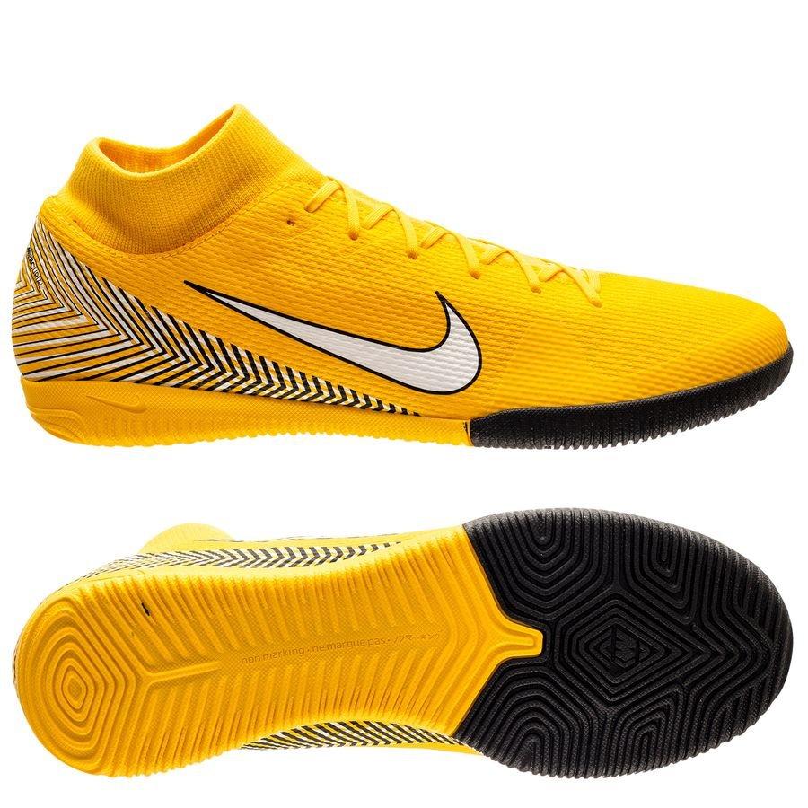 Nike Mercurial Superfly 6 Academy IC NJR Meu Jogo Pack - Jaune/Blanc/Noir
