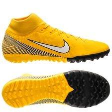 quality design a8d0f 90c55 Nike Mercurial Superfly 6 Academy TF NJR Meu Jogo Pack - Gul Vit Svart