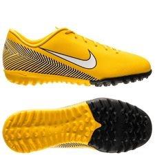Nike Mercurial Vapor 12 Academy TF NJR Meu Jogo Pack - Gul/Vit/Svart Barn