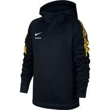 Nike Academy Hættetrøje Thermal NJR Meu Jogo Pack - Sort/Gul/Hvid Børn
