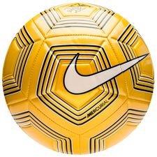 nike fotboll strike njr meu jogo pack - gul/vit/svart - fotbollar