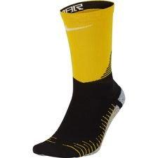 Image of   Nike Fodboldsokker NikeGRIP Crew NJR Meu Jogo Pack - Sort/Gul/Hvid