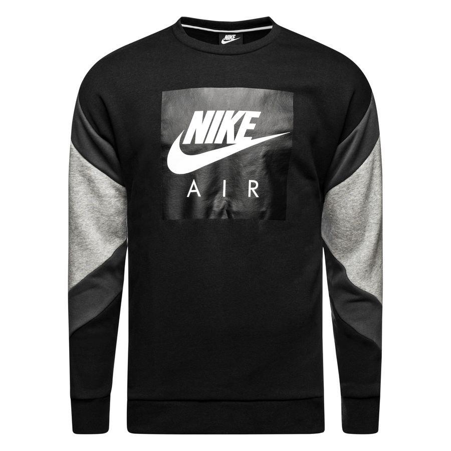 Nike Sweat-Shirt NSW Air Crew - Noir/Gris/Blanc