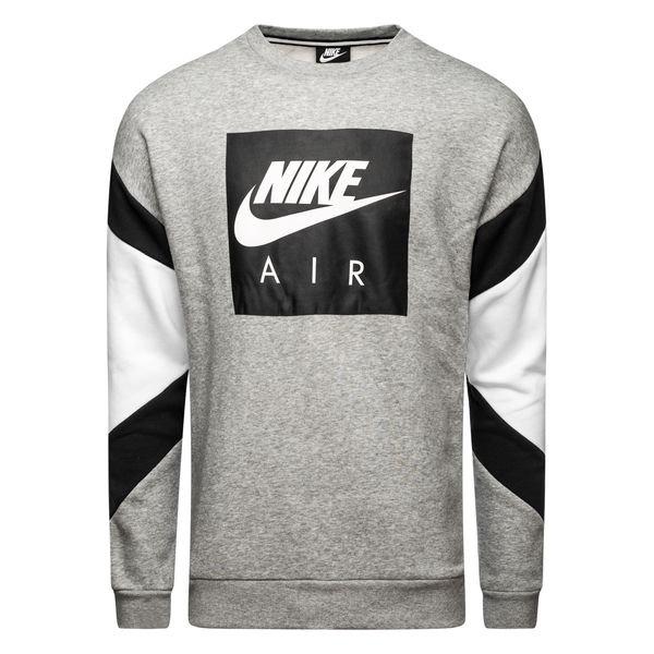 06f87bcb 64.95 EUR. Price is incl. 19% VAT. -50%. Nike Sweatshirt NSW Air Crew - Dark  Grey Heather/Black/White