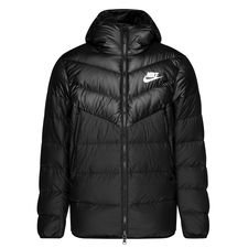 nike windrunner nsw down fill - sort/hvid - jakker