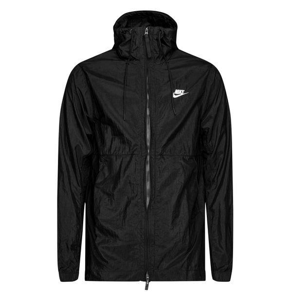 Nike Jakke NSW HD Woven SortHvid