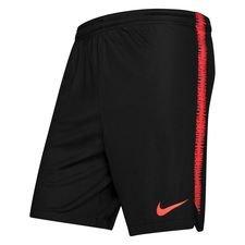 Image of   Nike Shorts Dry Squad 18 Raised On Concrete - Sort/Rød