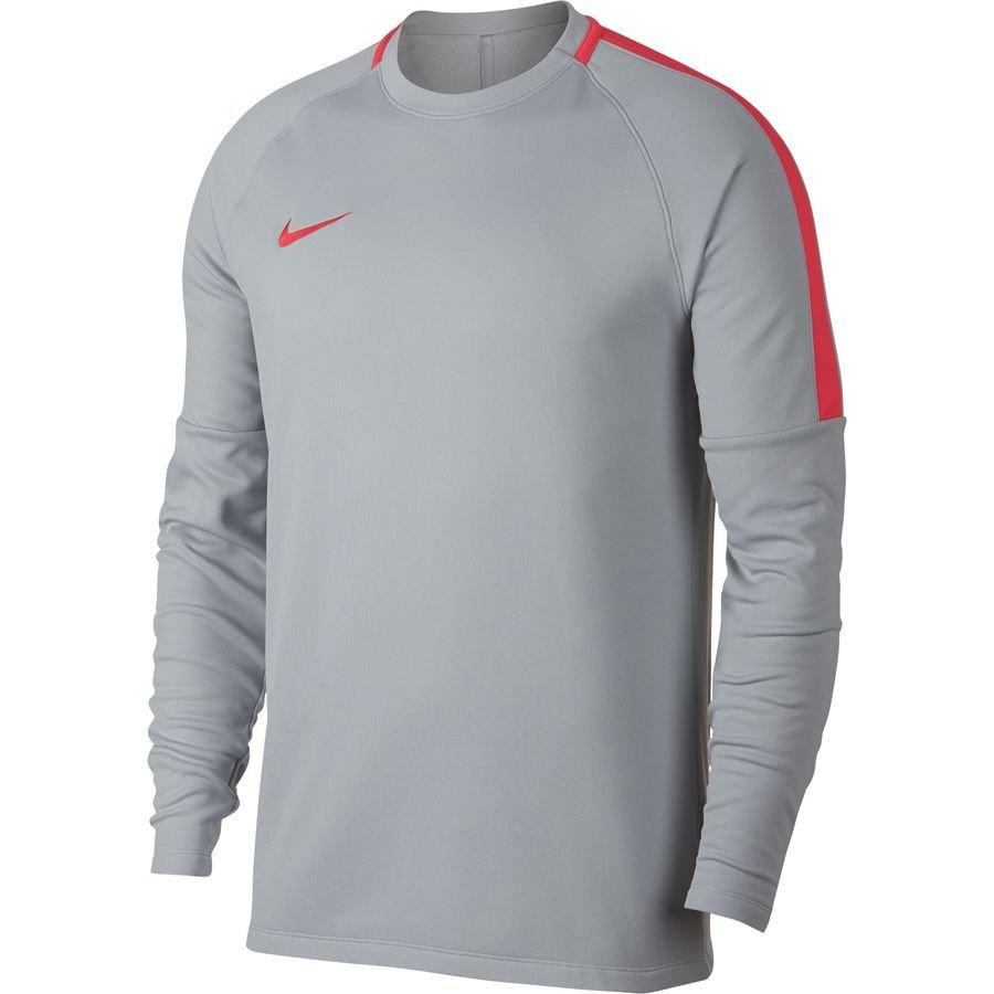 Nike Maillot d'Entraînement Academy Midlayer Crew Top Raised On Concrete - Gris/Rouge Enfant
