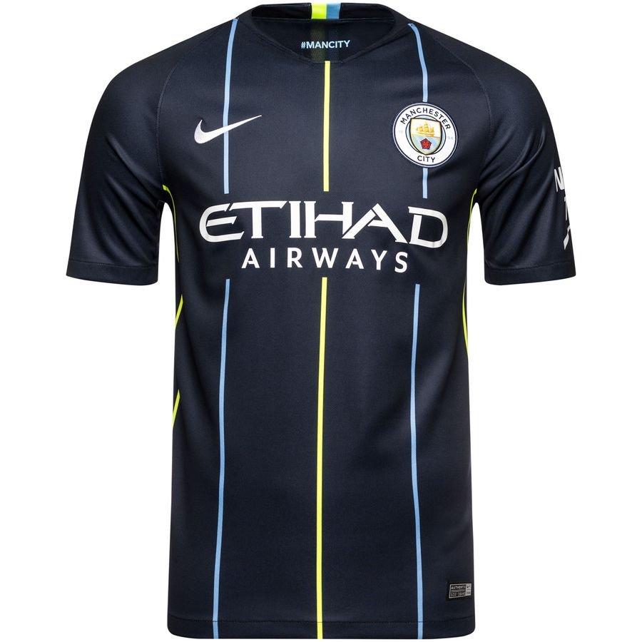 manchester city away shirt 2018 19 kids - football shirts ... b44b63d63