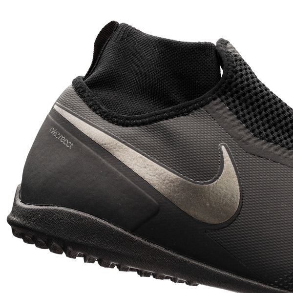 d557b4bdb Nike Phantom Vision React Pro DF TF Stealth Ops - Black Anthracite ...