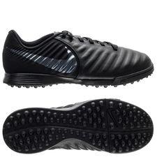 Nike Tiempo Legend 7 Academy TF Stealth Ops - Zwart Kinderen