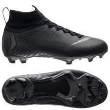 Nike Mercurial Superfly 6 Elite FG Stealth Ops - Zwart Kinderen