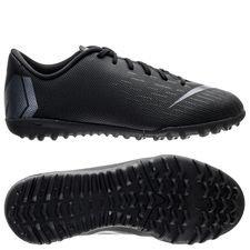 Nike Mercurial VaporX 12 Academy TF Stealth Ops - Zwart Kinderen