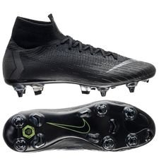 Nike Mercurial Superfly 6 Elite SG-PRO Anti-Clog Stealth Ops - Zwart