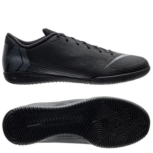 watch 3cadf 34ee1 Nike Mercurial VaporX 12 Academy IC Stealth Ops - Black ...